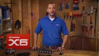 Crescent® X6 Ratcheting Wrench/Socket Set