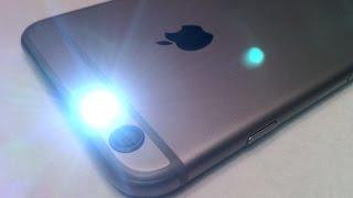 iPhone 6 / 6S Plus TIPS & TRICKS - Call / Text Indicator LED Flash Light Setup