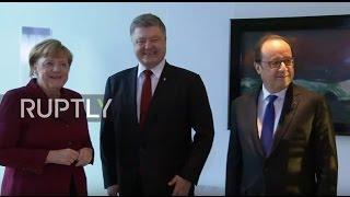 LIVE: Normandy Four talks kick off in Berlin