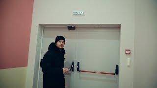 Тестируем аварийные выходы в торговых центрах Тюмени