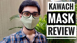 Kawach Mask by IIT Delhi Startup Review | Best Reusable Washable Cotton Cloth Mask with Nose Clip?