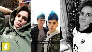 Joe Sugg Snapchat Stories (24th Nov-14th Dec 2016)