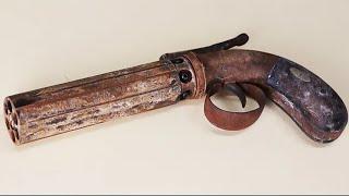 Rusty Vintage Pepperbox - Restoration