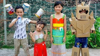 Trò Chơi Biểu Diễn Thời Trang - Bé Nhím TV - Đồ Chơi Trẻ Em Thiếu Nhi