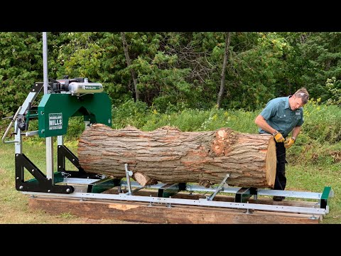 video thumbnail for HM130MAX Portable Sawmill