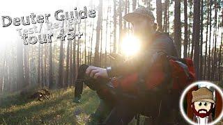 "Deuter Rucksack ""Guide tour 45+"" Review Test"