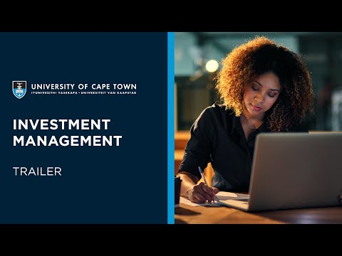 UCT Investment Management | Course Trailer