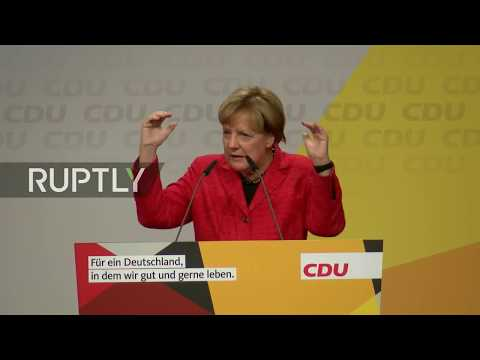 LIVE: Merkel holds campaign rally in Schwerin