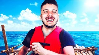 LOST AT SEA w/ MY GIRLFRIEND!! (Raft #1)