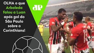 Veja a conversa que foi flagrada na comemoração do São Paulo após gol no Corinthians