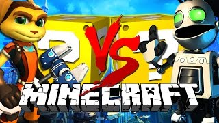 Minecraft | Ratchet LUCKY BLOCK CHALLENGE | Clank Fights!!
