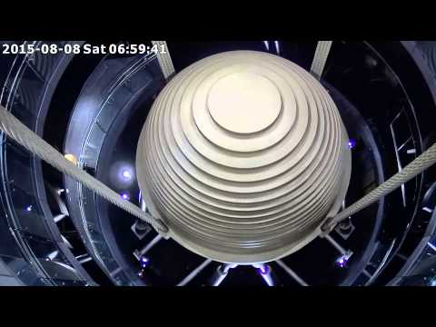 Watch The Incredible Force Of A Typhoon Move A Skyscraper's 700-Ton Mass Damper