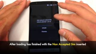 How to Unlock LG G3 Network in 5 Minutes! - AT&T, Tmobile, Rogers, Telus, Bell