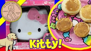 Hello Kitty Cupcake Maker - Jiffy Raspberry Muffins