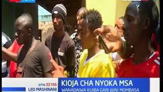 Kioja: Washukiwa wa wizi Mombasa wavua nguo zao