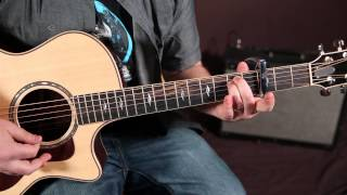 Shawn Mendes - Never Be Alone - Guitar Lesson, How To Play Chords And Finger Picking