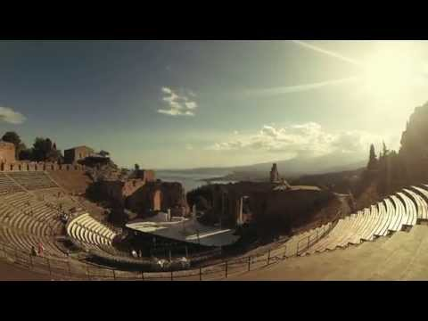GoPro Hero3+ Black - Ancient theatre of Taormina