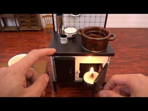 Watch This Guy Prepare A Tiny Japanese Feast In A Miniature Kitchen