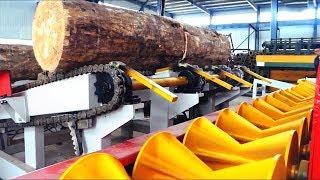 Plywood Machinery | Veneer Rotary Line