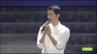 160521 송중기 Song Joong Ki FM sing 'Always' Descendants Of The Sun OST 태양의 후예OST