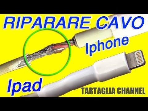 Come riparare cavo caricabatterie iphone, samsung a costo zero. Tecnica semplice ed efficace