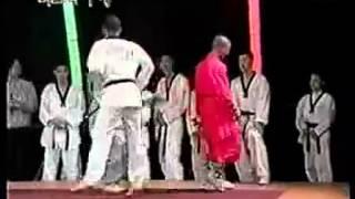 Shaolin Monk vs Taekwondo Master (HQ)