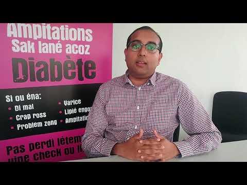 Effets de diabète et le tabagisme