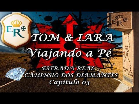 Um dos destinos da Estrada Real S01E03 - Trekking - Serro a Alvorada de Minas-MG