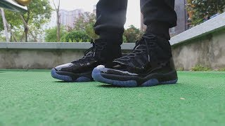 san francisco e51e3 fdad7 air-jordan-11-prom-night-on-foot-hd-