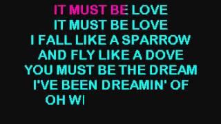 IT MUST BE LOVE  - ALAN JACKSON