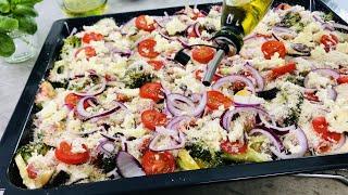 Warum kannte ich dieses Rezept vorher nicht? Sehr lecker und gesund - Gemüse aus dem Ofen # 77