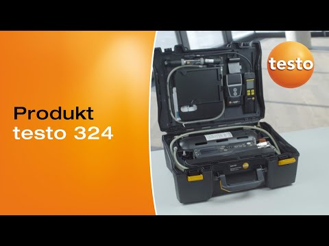 Vorstellung des Druck- und Leckmengen-Messgerätes testo 324 (Gas- und Wasser-Set.): Produktvideo