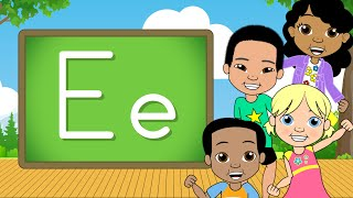 The Letter E | Alphabet A-Z | Jack Hartmann Alphabet Song