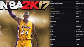 NBA 2k17 OFFICIAL Soundtrack Reveal! Ft Drake, Future, Young Thug & More!