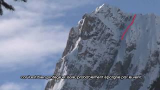 Xavier de le Rue Extreme snowboard freeride lines - TimeLine S01E05