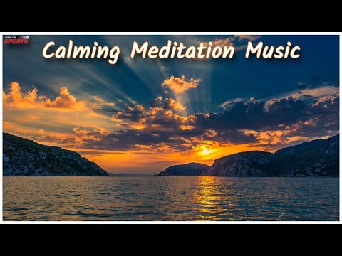 Calming Meditation Ocean Wave Sounds For Sleep, Study And Chill