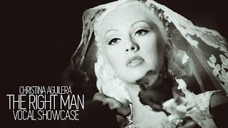 Vocal Showcase: Christina Aguilera - The Right Man (F#3 - E5)