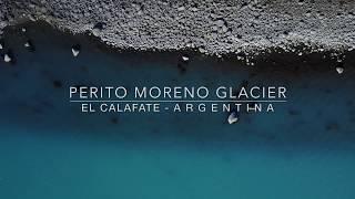 Flight in Perito Moreno Glacier (Glaciares National Park) Drone | Patagonia Argentina