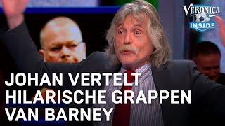 Johan vertelt hilarische grappen van Barney | VERONICA INSIDE