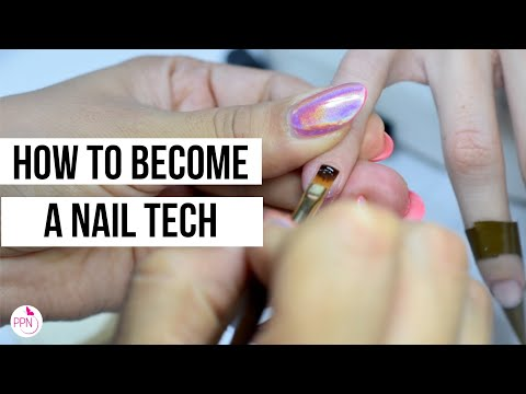 How to Become a Nail Technician (Manicurist) in 2020! - YouTube