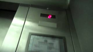 Hydraulic elevator in Minford Middle School in Minford, OH