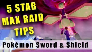 Pokémon Sword and Shield 5 Star Max Raid Battle tips - How to beat 5 Star Max Raid Battles