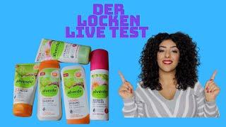 Alverde Locken Produkte im LIVE TEST