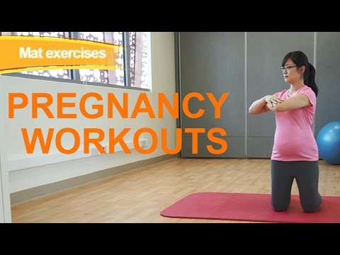 ​Pregnancy Exercises to Prevent Aches and Joint Pain