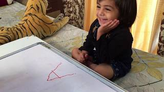 HOW TO TEACH TODDLER WRITING ABC