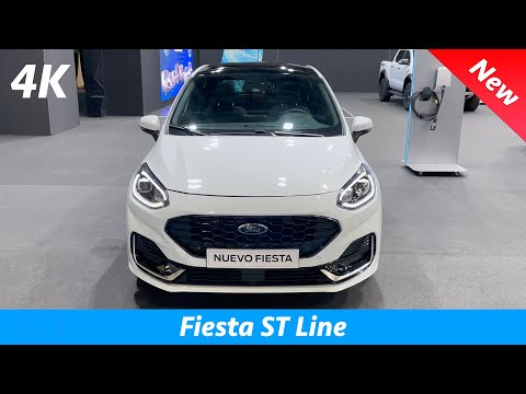 Ford Fiesta ST Line 2022 - FIRST Look in 4K | Exterior - Interior (Facelift), 1.0 EcoBoost HYBRID