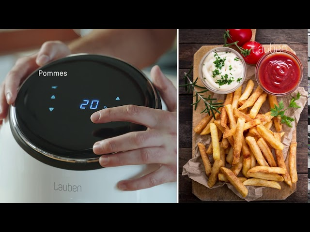 Lauben Hot Air Fryer 2500WT | Heißluftfritteuse