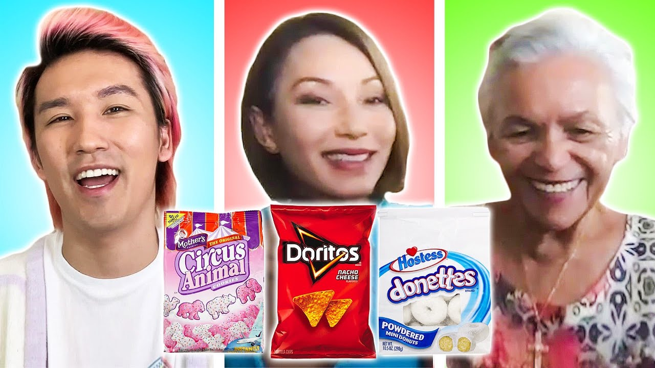 Three Generations Swap Their Favorite Snacks thumbnail
