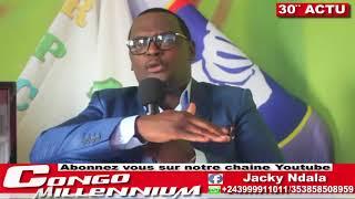 30'ACTUYA AVEC JACKY NDALA: MEETING DE FELIX BASOMBI YE? SOMMET SADEC EN ANGOLA, KATUMBI AU RWANDA .