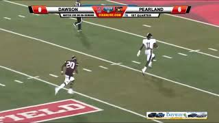 Kramer to Jones for the Dawson TD against Pearland!